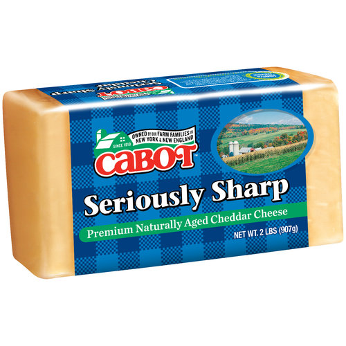 Cabot Seriously Sharp Cheddar Cheese, 32 oz