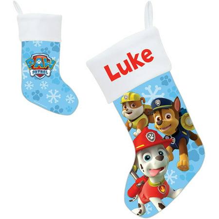 personalized paw patrol puptacular christmas stocking - Light Up Christmas Socks