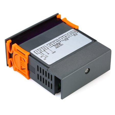 10A 12V Mini LED Digital Air Humidity Controller with Sensor 1%~99.9%RH Measuring Range - image 5 of 7