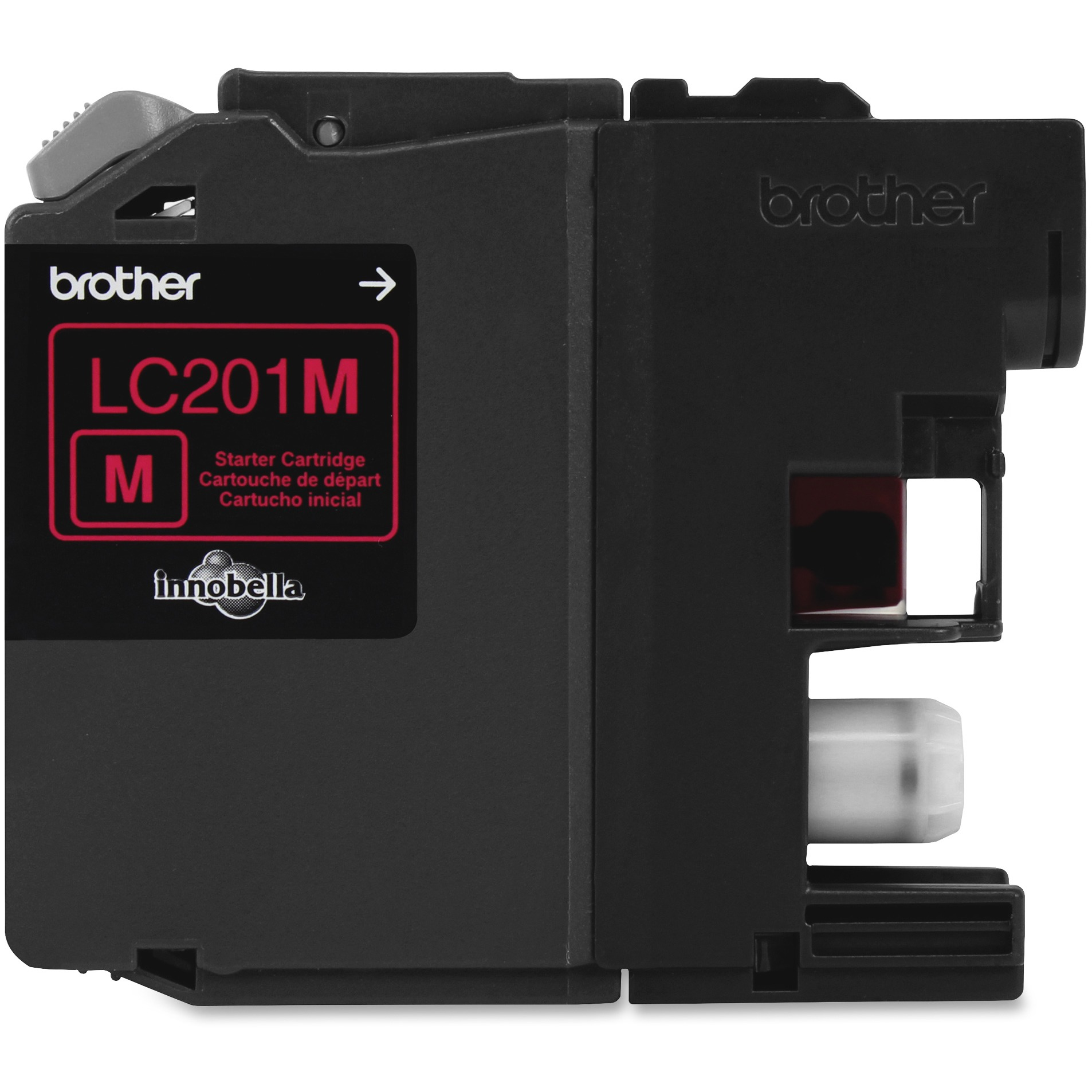 Brother LC201M Magenta Ink Cartridge (260 Yield) LC201M