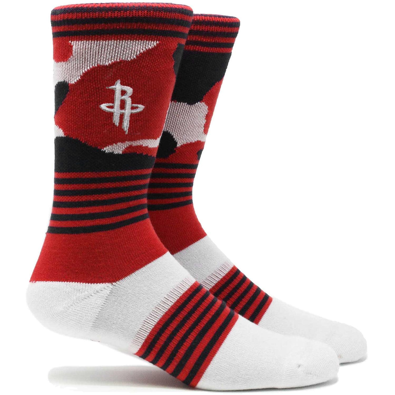 Houston Rockets Camo Crew Socks - L