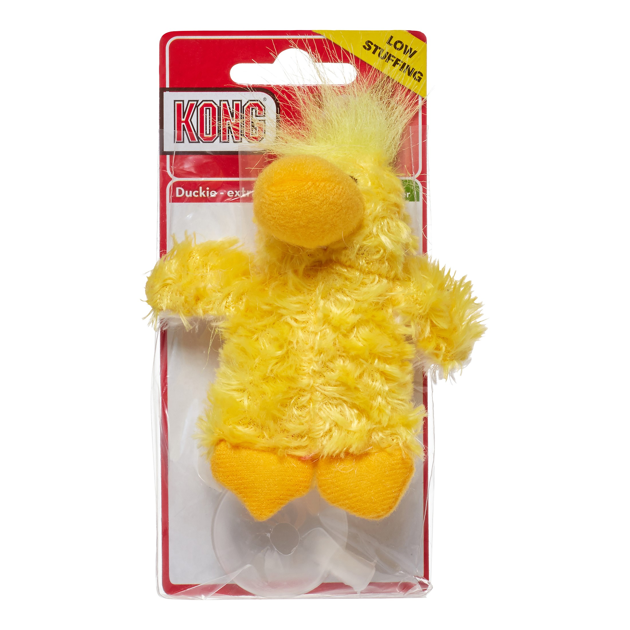 KONG Plush Duck Dog Toy, X-Small