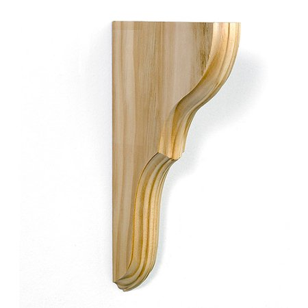 Oxford 7 X 11 Wood Shelf Brackets Unfinished