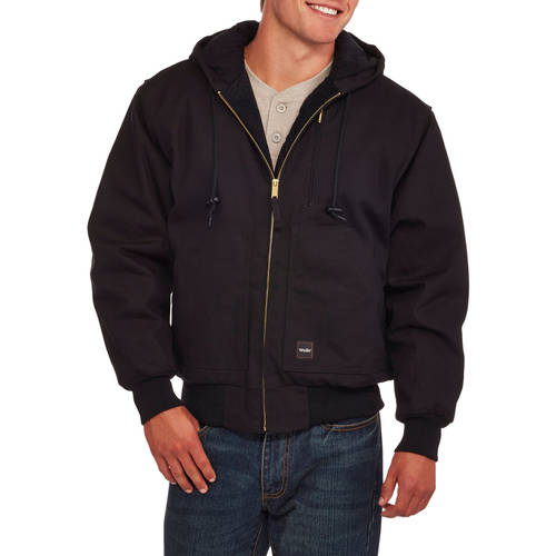 Walls Men's Insulated Duck Hooded Jacket