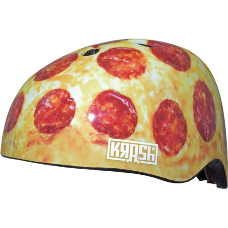 C-Preme Krash! Pizza Party All Over Print Multisport Helmet, Youth 8+ (54-58cm)