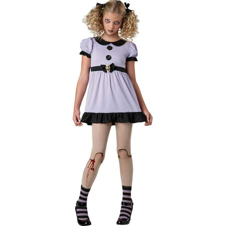 Tween Dead Dolly Girl Costume by Incharacter Costumes LLC 18068