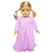 My Brittany's Lavender Star Nightgown for American Girl Dolls-Doll Clothes for American Girl Dolls