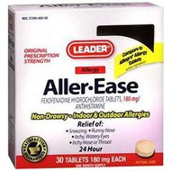 Leader Aller-ease Tablets 15 Count-Box of 1
