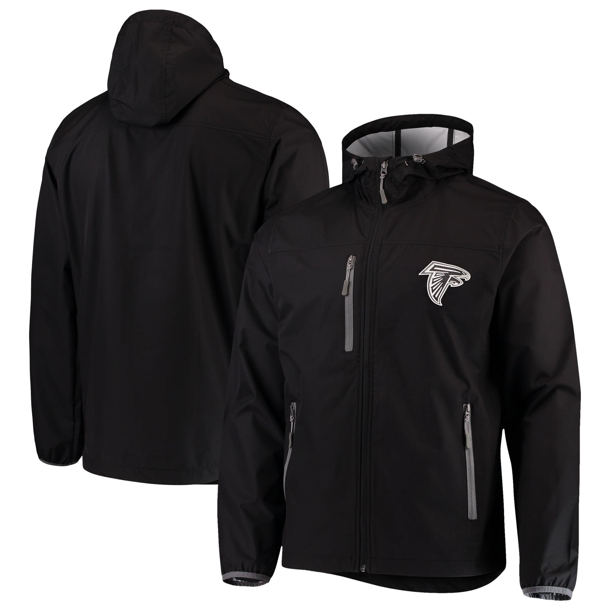 Atlanta Falcons G-III Sports by Carl Banks Trick Play Full-Zip Hooded Jacket - Black