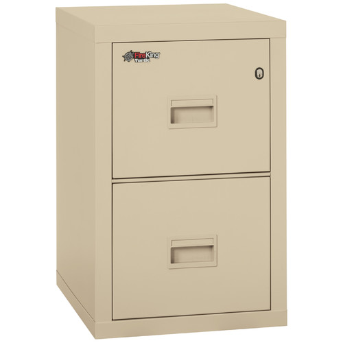 Fireking Turtle Fireproof 2-Drawer Vertical File Cabinet