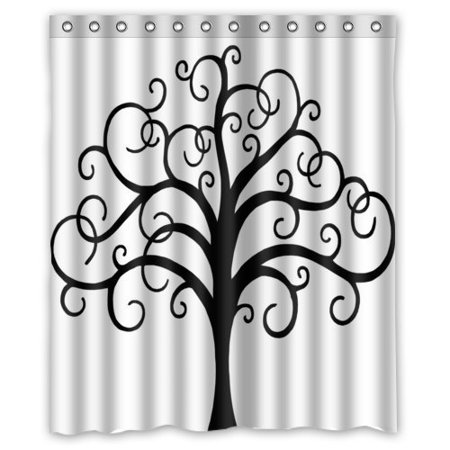 XDDJA Tree of Life Shower Curtain Waterproof Polyester Fabric Shower Curtain Size 60x72 inches - image 1 of 1