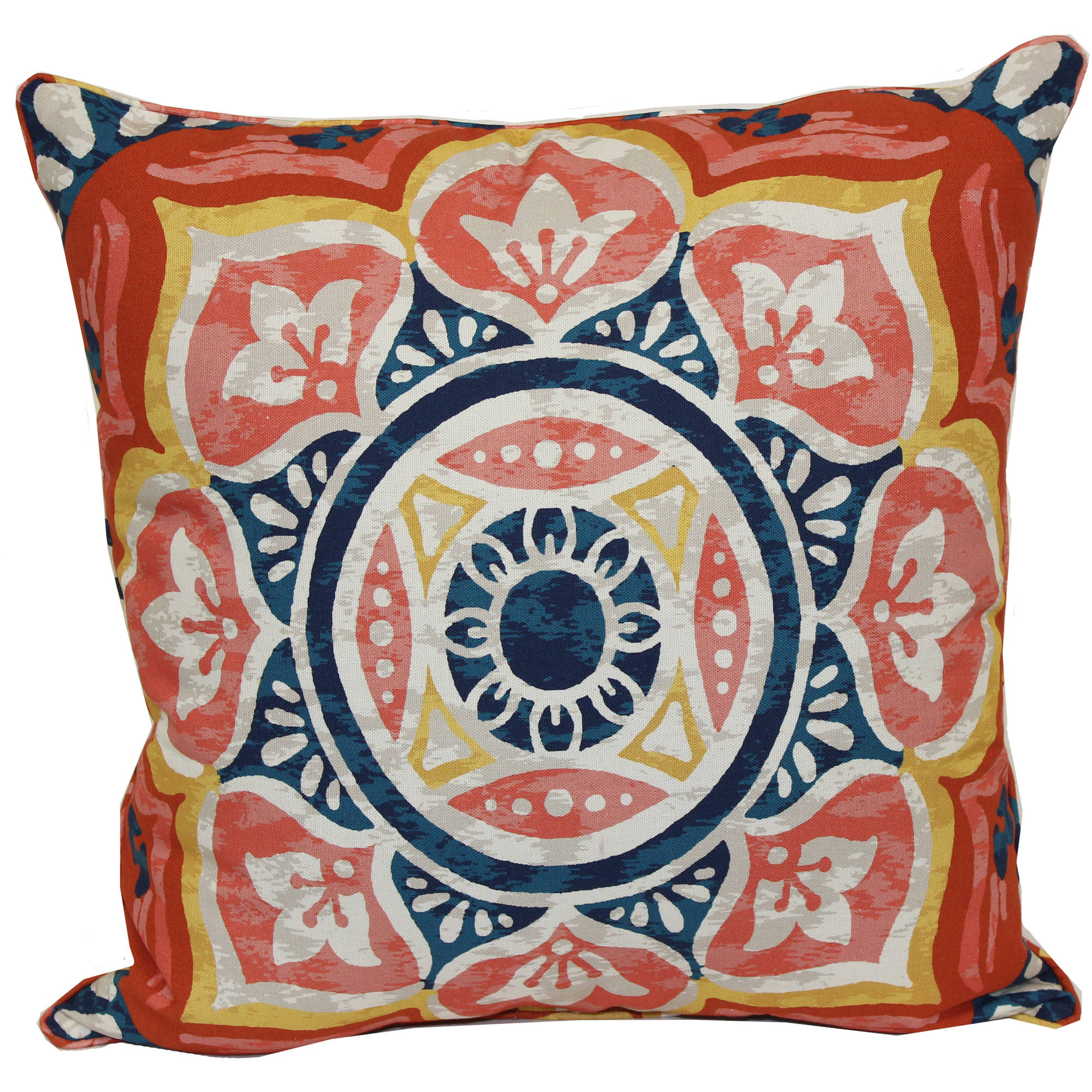 Better Homes And Gardens Medallion Outdoor Toss Pillow   Walmart.com