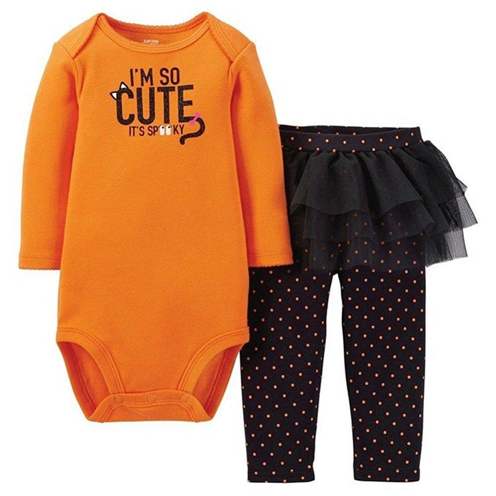 just one year 2-piece auntie's little boo tutu set (12 months)