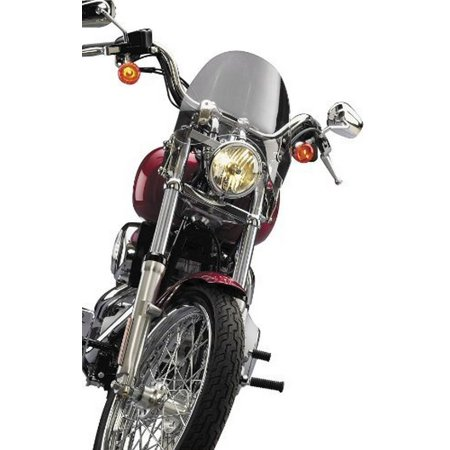 National Cycle Switchblade Deflector Tint Windshield for 2002-2009 Honda VTX130 - One -