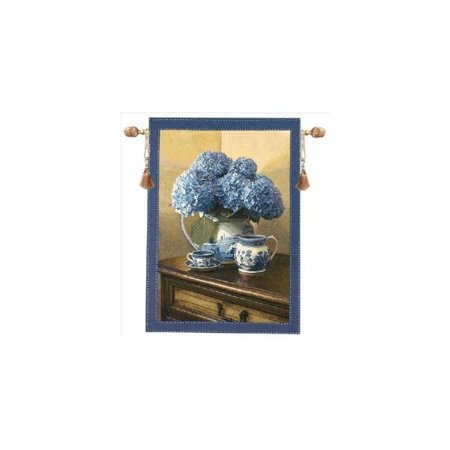 Blue Willow (manual willow grande tapestry wall hanging, 35 x 47-inch, blue )
