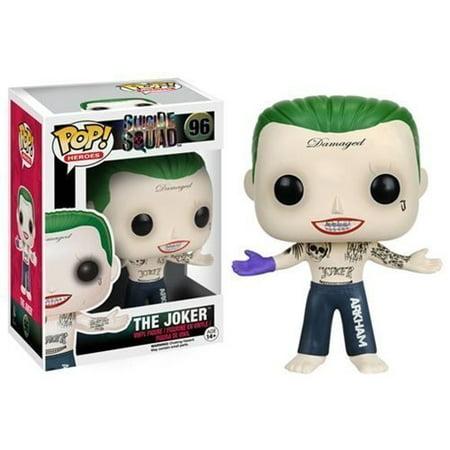 Funko POP! Suicide Squad: Harley Quinn & The Joker - Vinyl Figure Set NEW - The Joker And Harley Quinn Costume