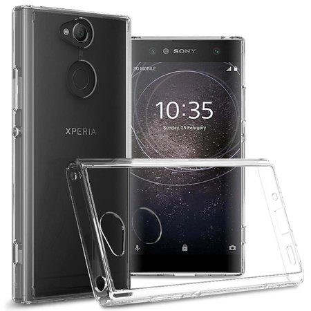 new arrival 1d019 1fef5 CoverON Sony Xperia XA2 Case, ClearGuard Series Clear Hard Phone Cover