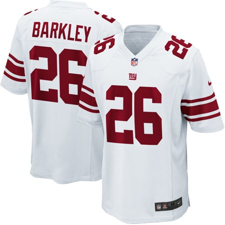 new arrival 2593e 551db Saquon Barkley New York Giants Nike Youth Game Jersey - White