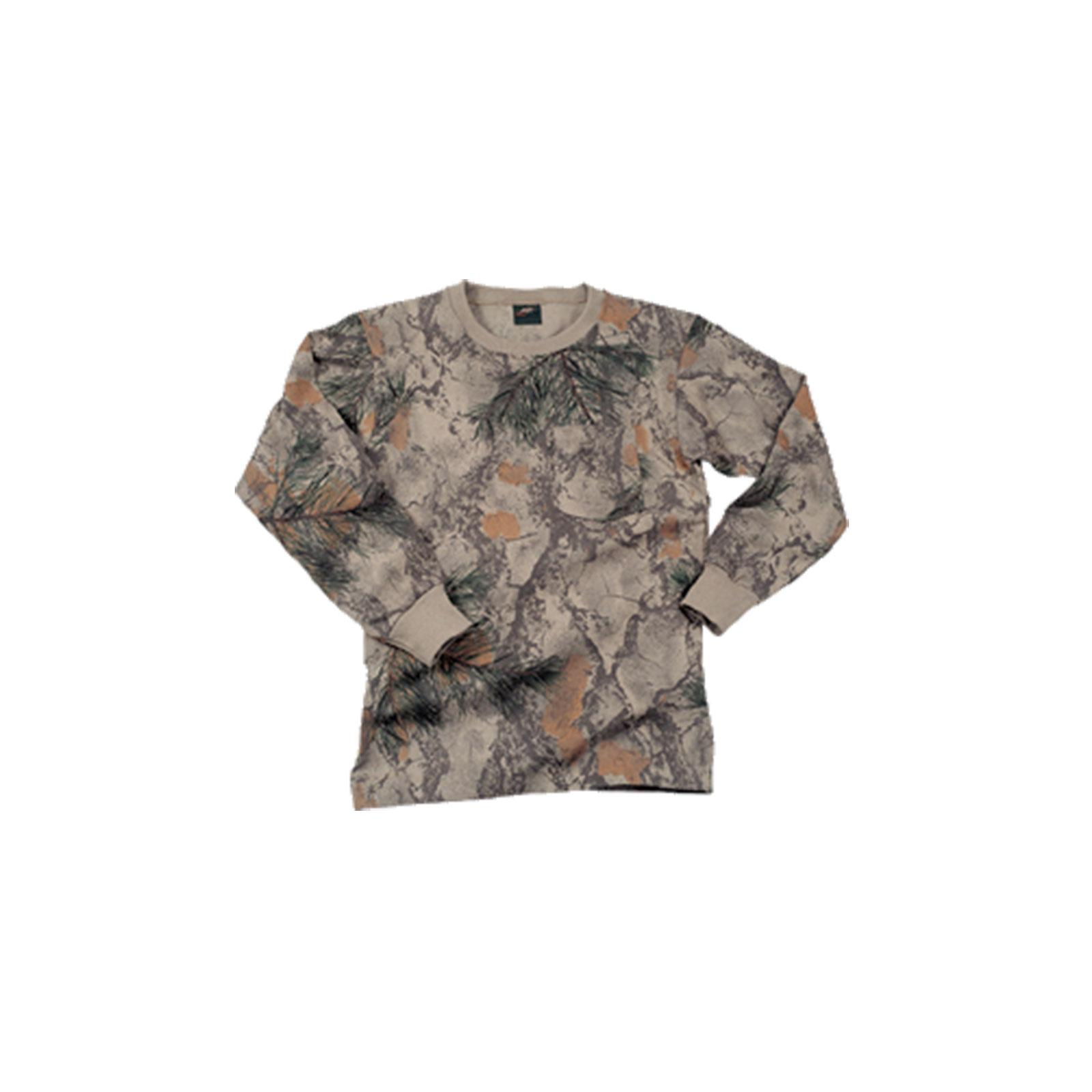Natural Gear Long Sleeve Tshirt Natural Camo, 112 by Natural Gear