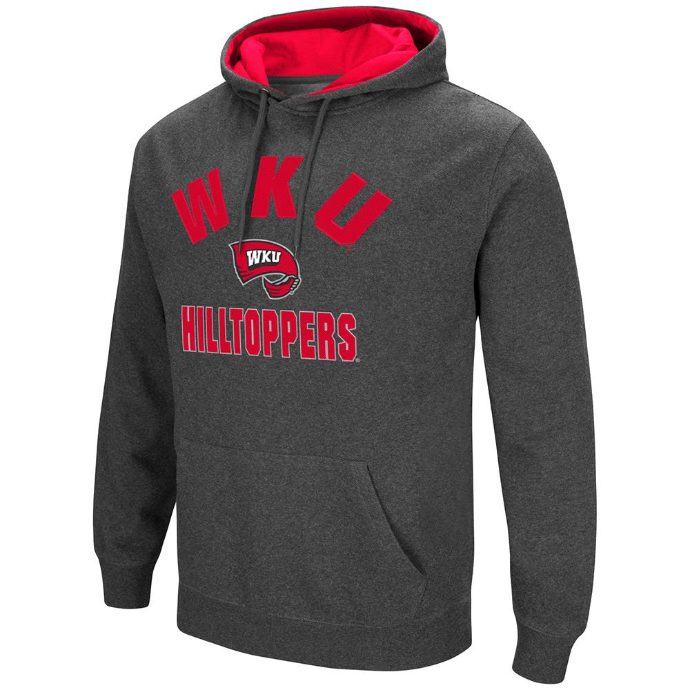 Mens NCAA WKU Hilltoppers Pull-over Hoodie by Colosseum