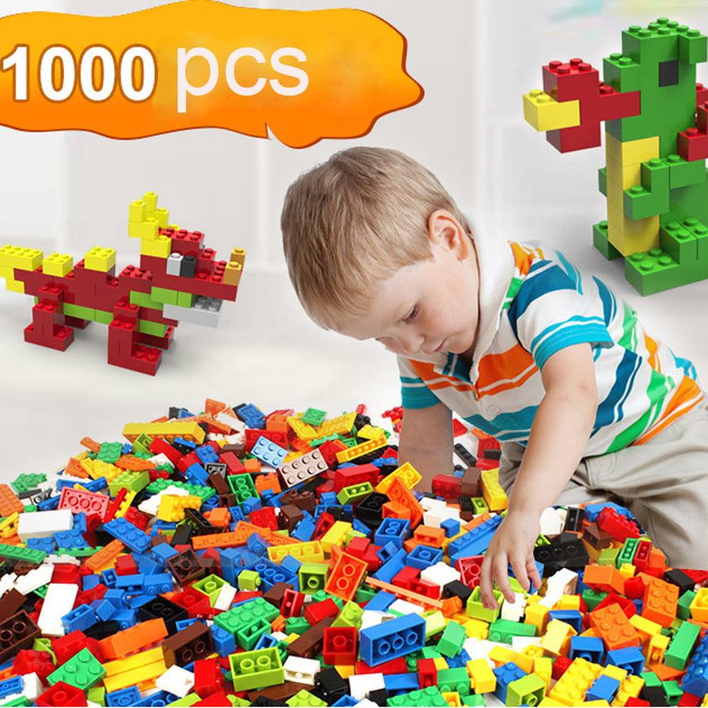 1000 PCS Building Blocks Bricks Set City DIY Creative Toys Educational Bricks