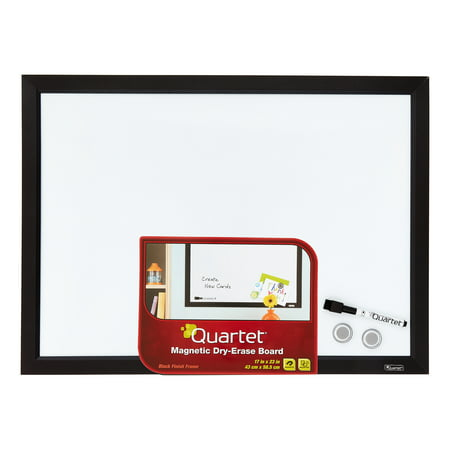 Quartet Magnetic Dry-Erase Board, 17