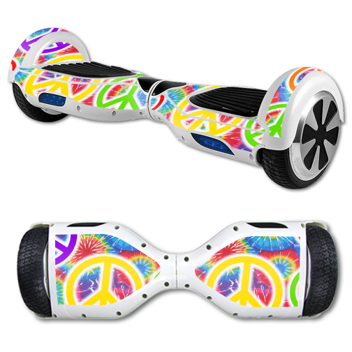 MightySkins Protective Vinyl Skin Decal for Hover Board Self Balancing Scooter mini 2 wheel x1 razor wrap cover sticker Peaceful Explosion