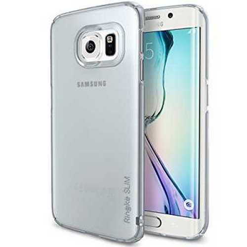 Refurbished Galaxy S6 Edge Case, Ringke [Slim] Snug-Fit Slender [Tailored Cutouts] Ultra-Thin Side to Side Edge Coverage Superior Coating PC