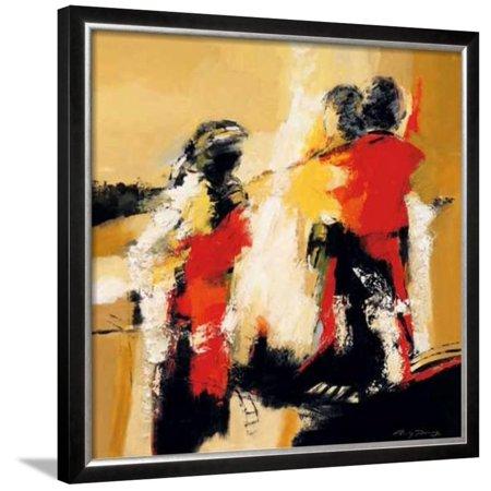 Magic Moments II Framed Art Print Wall Art  By Ricky Damen - 30x30 (Online Shop Damen Günstig)