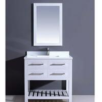 Dawn USA Bohemian 36'' Single Vanity Set with Mirror