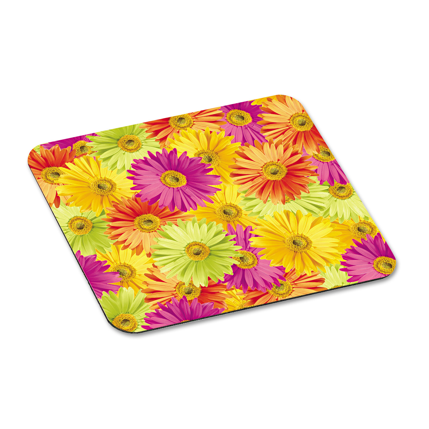 "3M Mouse Pad with Precise Mousing Surface, 9"" x 8"" x 1/8"", Daisy Design"