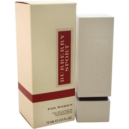 Burberry Sport For Women Eau De Parfum Natural Spray  2 5 Fl Oz