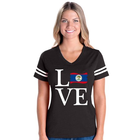 Love Belize Flag Women