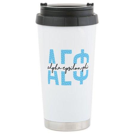 CafePress - Alpha Epsilon Phi - Stainless Steel Travel Mug, Insulated 16 oz. Coffee Tumbler