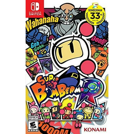 Konami Super Bomberman R, Nintendo Switch
