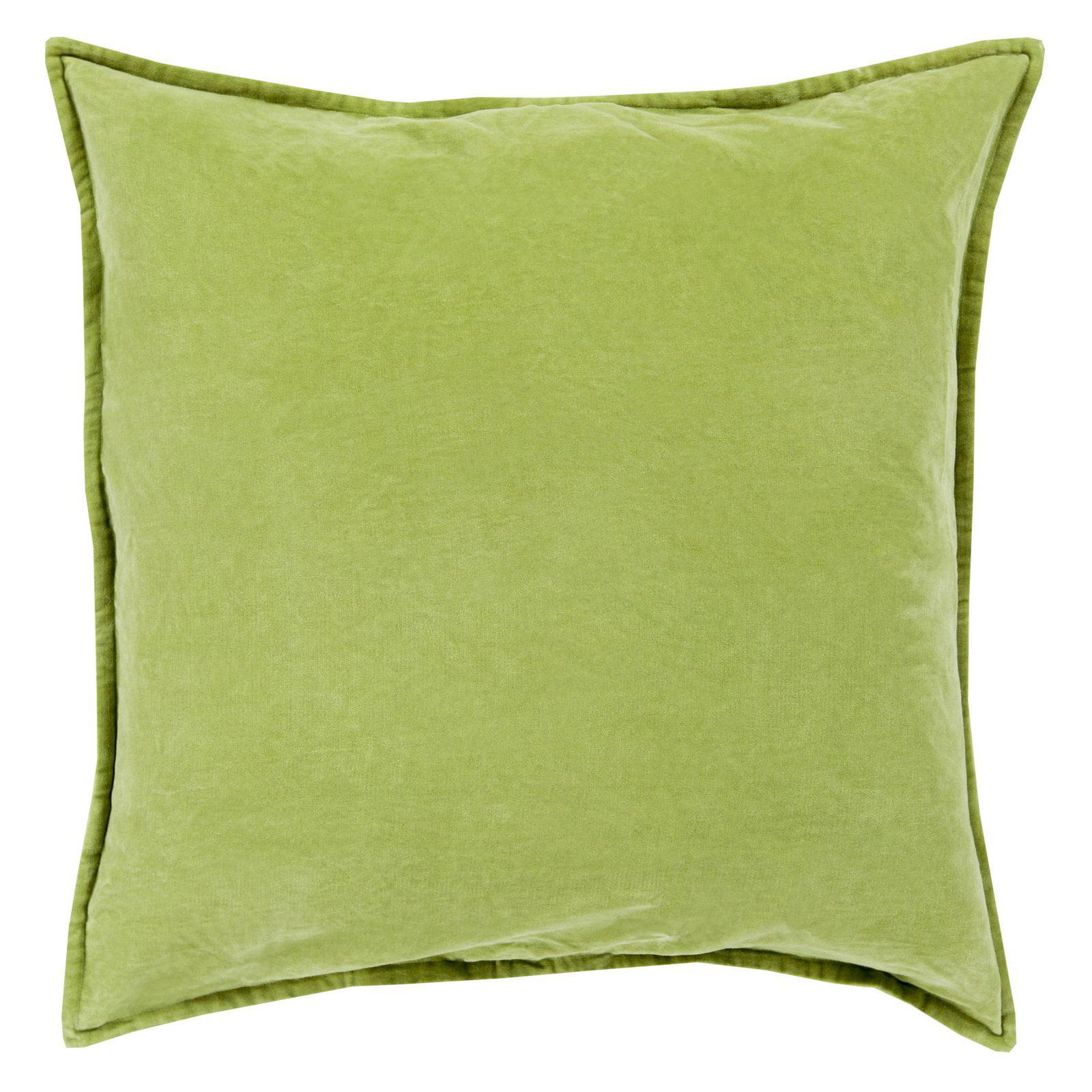 Surya Smooth Velvet Decorative Throw Pillow