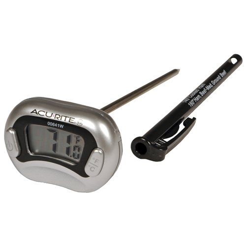 acurite digital meat thermometer 00641w