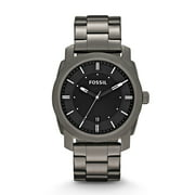 Best Fossil Watches For Men - Fossil Men's FS4774 Machine Smoke Stainless Steel Bracelet Review
