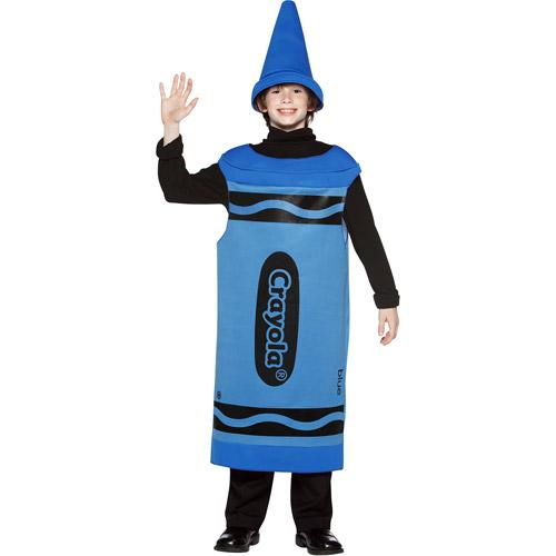 Crayola Blue Tween Halloween Costume, Size: Teen Girls' - One Size