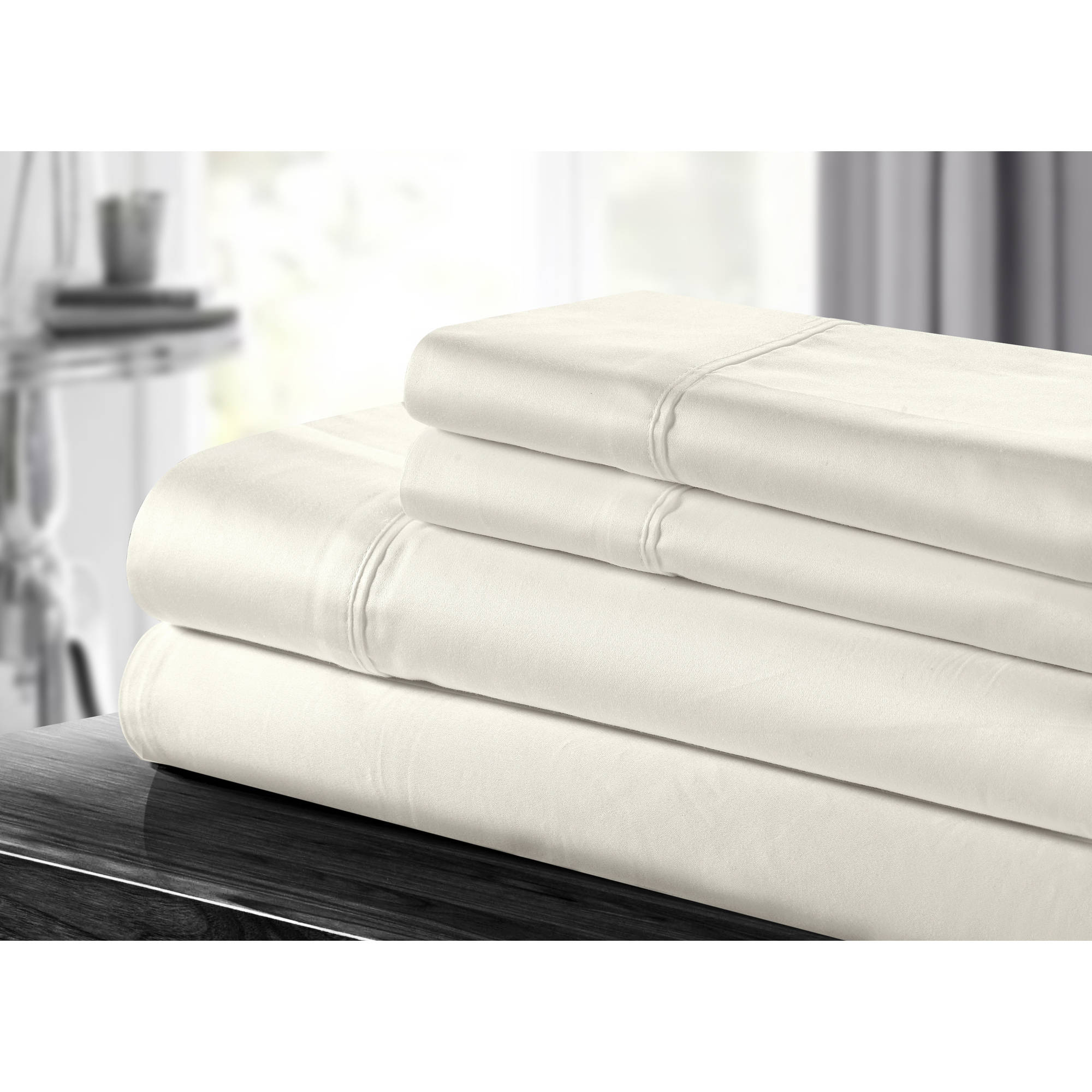Chic Home Lafayette 100 Percent Cotton 500-Thread-Count Sheet Set