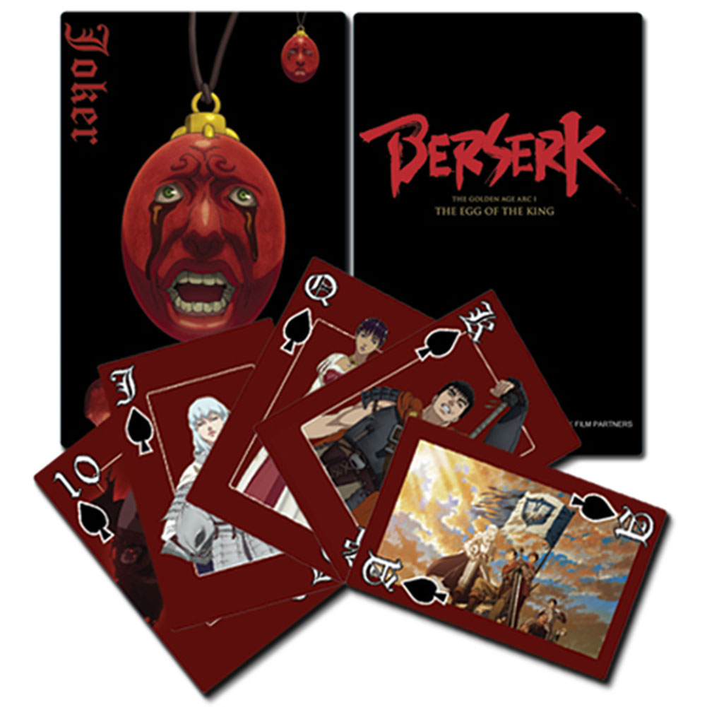 Berserk - Playing Cards