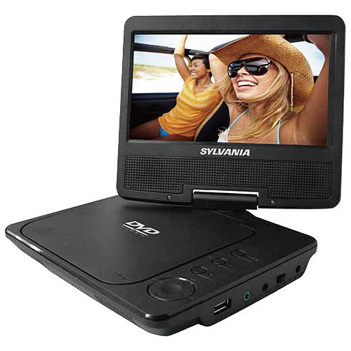 "Sylvania 7"" Widescreen Portable DVD Player, SDVD7040B"