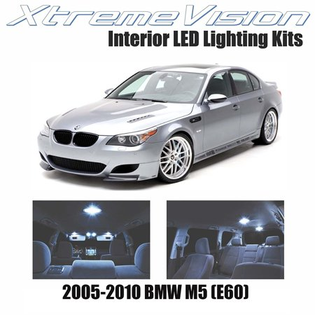 Xtremevision Led For Bmw M5  E60  2005 2010  12 Pieces  Cool White Premium Interior Led Kit Package   Installation Tool