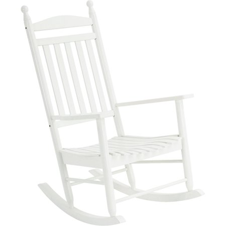 Knollwood Classic Wooden Rocking Chair Leisure Rocker Finish