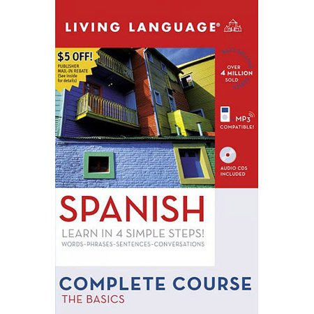 Living Language Complete Course Spanish  The Basics  Learn In 4 Simple Steps