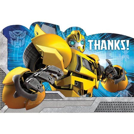 Transformers Thank-You Notes,