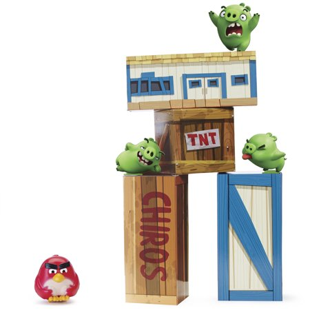 Angry Birds Vinyl Knockout Playset - Angry Birds Halloween 3-13 Three Stars