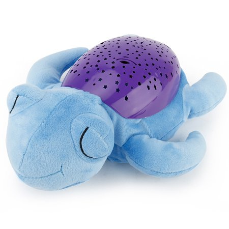 Cute Sea Turtle Design Babysbreath Sleep Projector Children Turtle Lamp Toys LED Colorful Night Light for $<!---->
