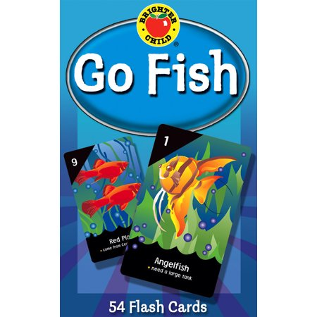 - Go Fish Card Game : 54 Flash Cards