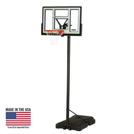Lifetime Adjustable Portable Basketball Hoop (46-Inch Polycarbonate), 90584 - Cheap Basketball Hoop